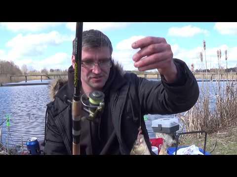 ловим карася в апреле видео