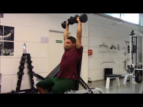 DB SHOULDER PRESS SEATED | Richtige Technik & Ausführung