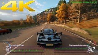 Forza Horizon 4 Frame Frame Rate Test | Xbox One X | E3 2018 Demo | 4K 30 FPS