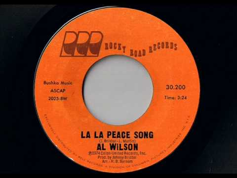 Al Wilson   La La Peace Song video