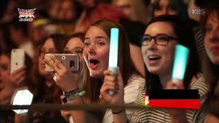 Music bank in berlin  - Stray kids - DNA, 하드캐리해 20181031