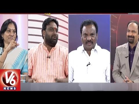 Special Debate On KCR Review Meet Over Vote-for-note Scam | Good Morning Telangana | V6 News