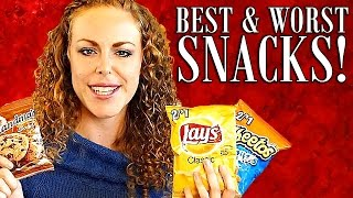 WORST Snacks & Healthy Alternatives- Chips & Cookies! Weight Loss Tips, Nutrition Info