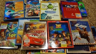 My Complete Disney/Pixar Blu-Ray Collection - May 2015 Update