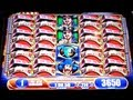 Pirate Ship Max Bet Bonus Huge Super Big Win WMS Slot Machine