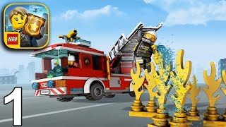 LEGO CITY MY CITY 2 Gameplay Part 1 - Fire Frenzy (iOS Android)
