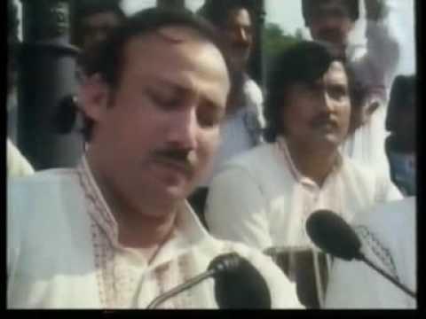 Ustad Nusrat Fateh Ali Khan - Allah Mohammad Char Yaar video