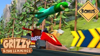 TOP 10 spécial course poursuite entre Grizzy VS Lemmings  - Grizzy & les Lemmings