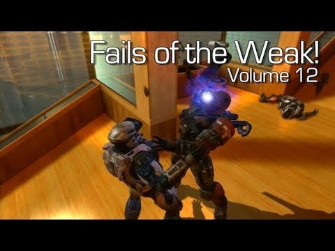 Halo: Reach - Fails of the Weak Volume 12 (Funny Bloopers and Screw-Ups!)