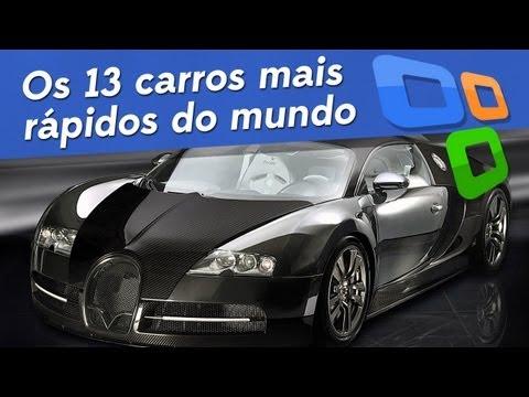 Os 13 carros mais rápidos do mundo - Tecmundo