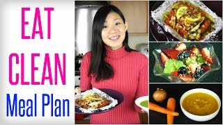 My EAT CLEAN Meal Plan