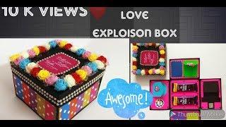 #exploisonbox Love exploison box  Diya for boyfriend, girlfriend for #valentine day