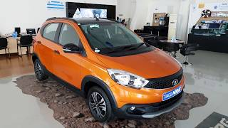 All New Tata Tiago NRG Canyon Orange Exterior and Interior in 4K 60FPS