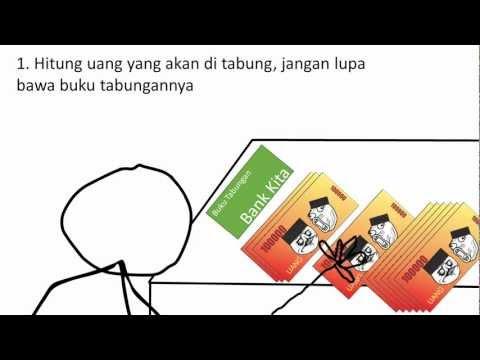 Meme Comic Spensa Malang - Cara Menabung di Bank