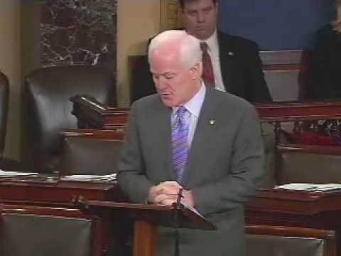 Sen. Cornyn's Floor Speech on Judge Sotomayor