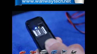 WanWayTech Vehicle GPS Tracker Fast Positing for Car Motorcycle Truck