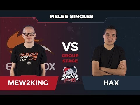 Mew2King vs Hax - Melee Singles: Group D - Smash Summit 5
