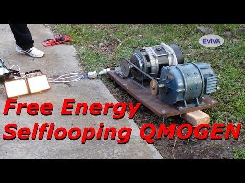 Free Energy Motor - Generator QMOGEN 1KWATT EVIVA unit from Kiev ...