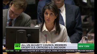 'Only US has credibility when it comes to mediating Israeli-Palestinian conflict' - Haley to UNSC