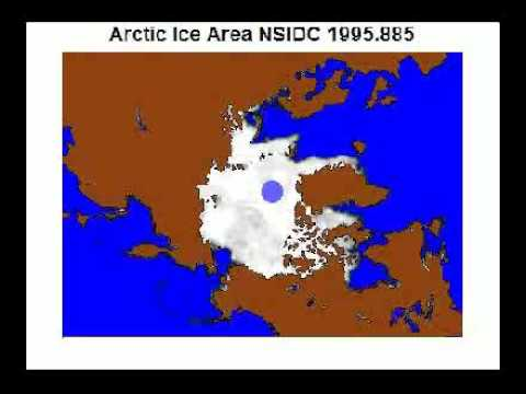 Arctic Sea Ice timelapse from 1978 to 2009