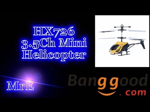 HX726 3.5Ch Helicopter (Courtesy Banggood)