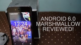 Android Marshmallow Review (Android One)