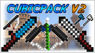 ★ Minecraft PvP Texture Pack CubicPack V2 ★