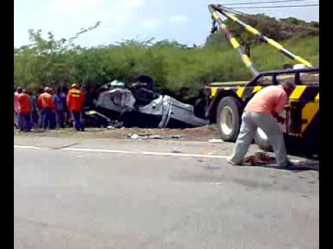 gravisimo accidente en la guajira
