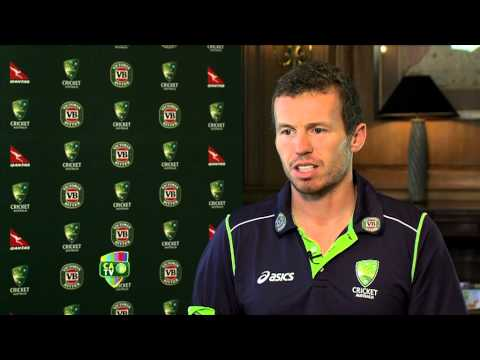 Peter Siddle interview India - March 9th