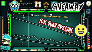10k Subs Special Trickshots + Giveaway - 8 Ball pool - Miniclip