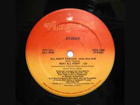 All Night Passion - Alisha 1984