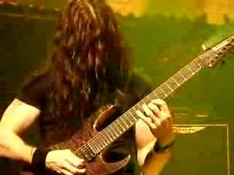 Chris broderick Tornado of souls solo @Paradiso Amsterdam