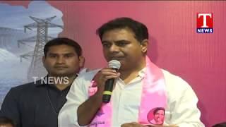 Minister KTR Speech - Warangal Leaders Join TRS At Telangana Bhavan  live Telugu - netivaarthalu.com