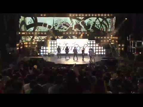 BEAST - Shock, Fiction, Beautiful, YouTube Presents MBC K-pop concert 20120521