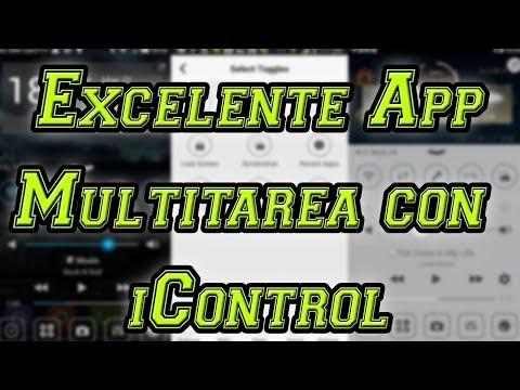Excelelnte Launcher Multitarea para Android con iControl [Aplicación para Android] por MiSoTa94