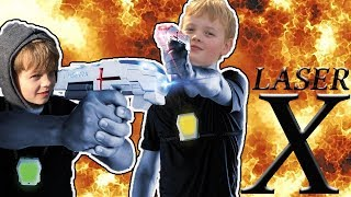 LASER TAG GAME | FAMILY FUN VLOG | FUNNY KID FRIENDLY VIDEO 2017