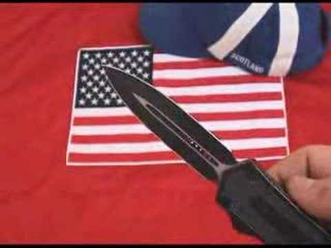Airbourne-Thrasher OTF - Double Action - Full Auto Knife