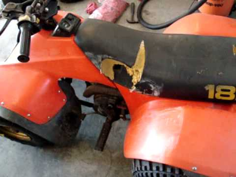 1984 Suzuki LT185 Quad Runner Cold Start