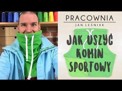 DIY: Jak Uszyć Komin Sportowy Z Pracownia Jan Leśniak