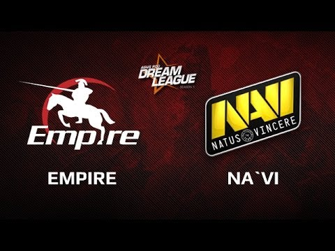 Na`Vi -vs- Empire, DreamLeague Day 4 Game 2