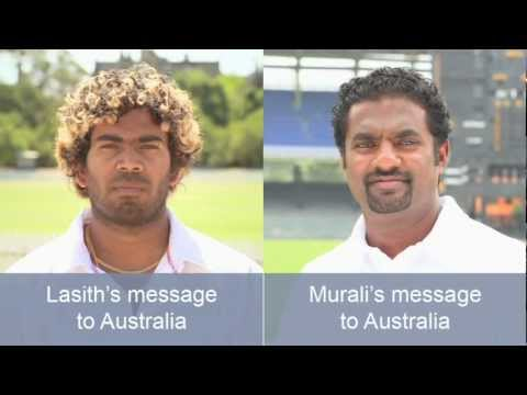 Don't be sorry - Muttiah Muralitharan message (English Version)