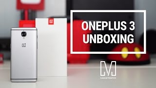 OnePlus 3 Unboxing and Hands-on