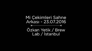 Mutfak İnsanları Kamera Arkası - Barista Özkan Yetik - Brew Lab Coffee