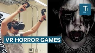 We Tried Two Terrifying VR Horror Games On The HTC Vive