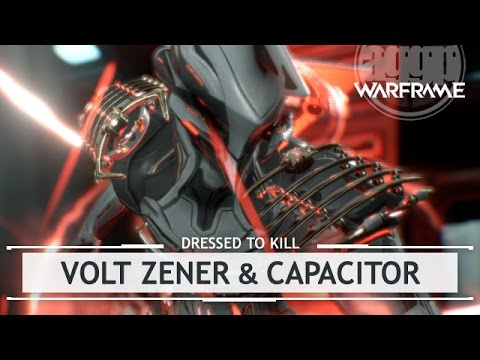 Warframe: Volt's Zener & Capacitor Skins - Customized [dressedtokill]