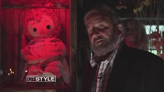 Ryan visits the Annabelle Doll at The Warren's Occult Museum