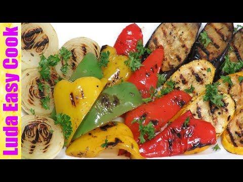 ОБАЛДЕННЫЕ ОВОЩИ ГРИЛЬ + АРОМАТНЫЙ МАРИНАД Вкусный овощной гарнир LudaEasyCook