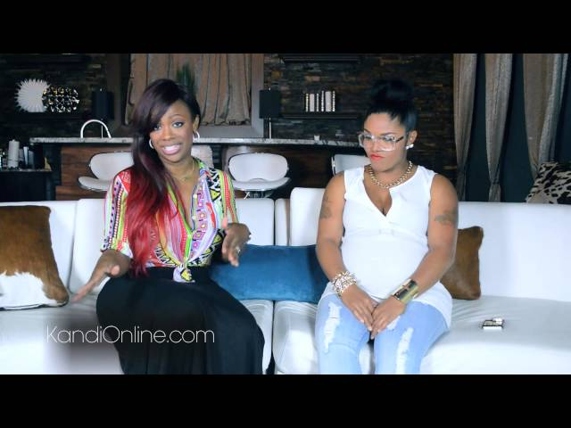 Rasheeda of Love and Hiphop talks to Kandi Burrus of about Kirk Drama and Independent artistry
