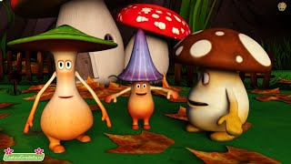 Noi Suntem Ciupercute - Cantece Pentru Copii