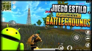 PARTIDA INTENSA! - DESCARGA NUEVO JUEGO ESTILO PLAYERUNKNOWNS BATTLEGROUNDS (PUBG) PARA ANDROID APK